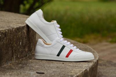 G&T bőr sportcipő - Trikolór Light