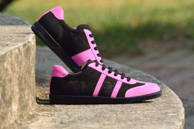 G&T bőr sportcipő Ében- Pink