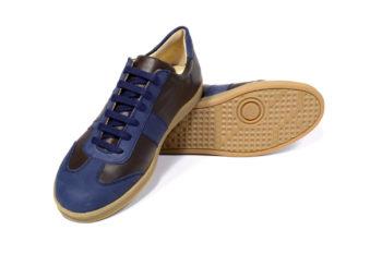G&T bőr sportcipő Kakaó - Óceán
