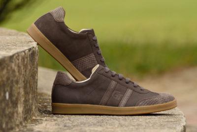 G&T bőr sportcipő Pala - Piton