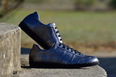 G&T Karbon bőr sportcipő