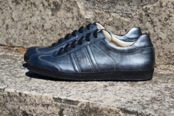 G&T Klasszikus Karbon bőr férfi sportcipő