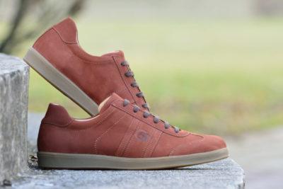 G&T bőr sportcipő - Rozsda