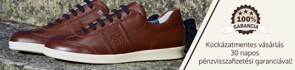 Kockázat mentes vásárlás a G&T cipők oldalán