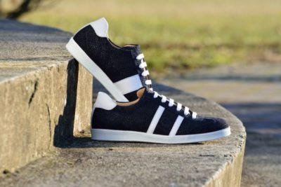 G&T bőr sportcipő Korall - Fehér