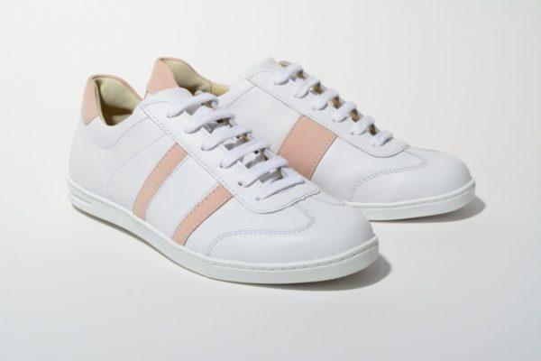 G&T cipő Fehér Púder nappa