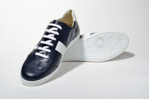 G&T bőr sportcipő Óceán - Fehér nappa