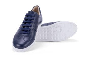 G&T Klasszikus Óceán nappa bőr sportcipő