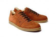 G&T Rozsda - bőr sportcipő