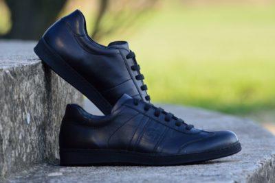 G&T cipő Full Black Nappa