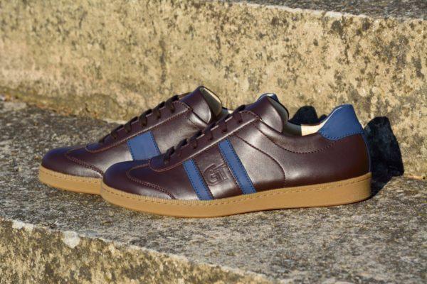 G&T cipő - Kakaó- Óceán nappa