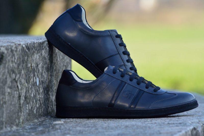 G&T cipő Szürke - Fekete nappa