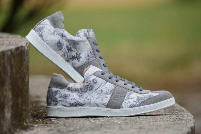 G&T cipő Ezüst Virág - Szürke