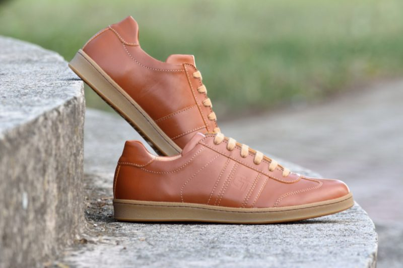 Karamell nappa - G&T cipő