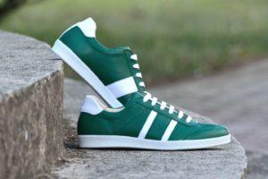 Zöld - Fehér nappa - G&T cipő