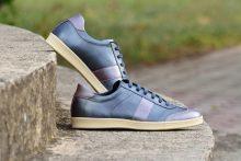 G&T cipő Éjkék - Sötét mályva nappa