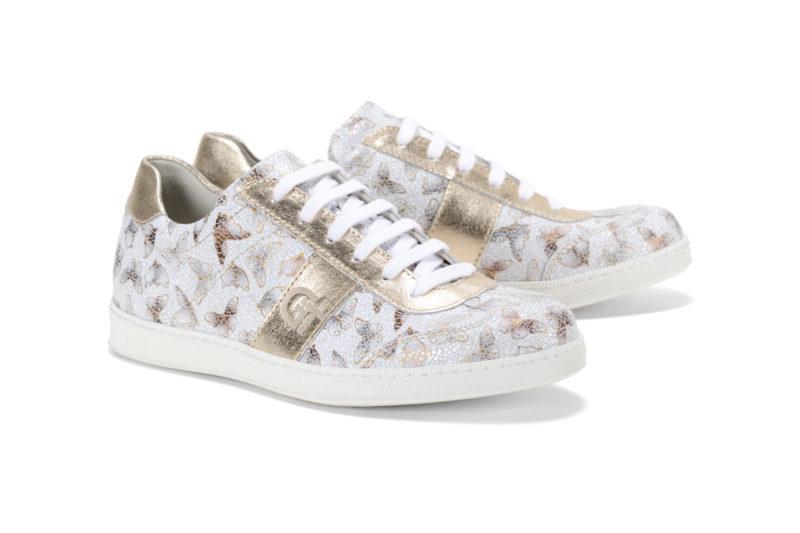 G&T Arany Pillangó - Arany női cipő