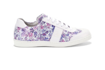 Lila - Pink virág -Fehér G&T cipő