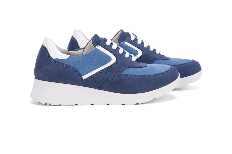 G T Alina - Navy Blue - Óceán nubuk női cipő fd161a4e45