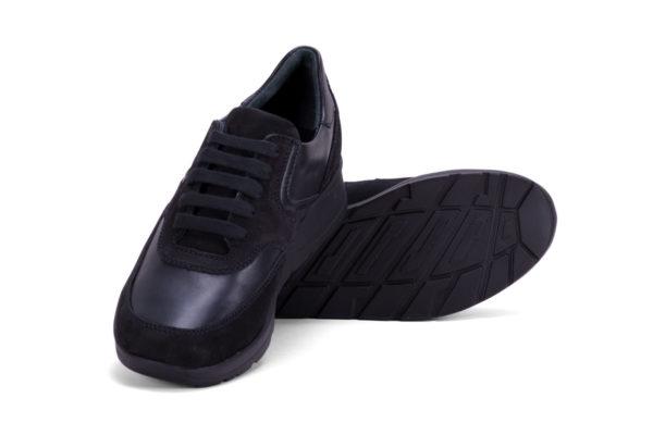 G&T Alina - Fekete Duó nappa női cipő