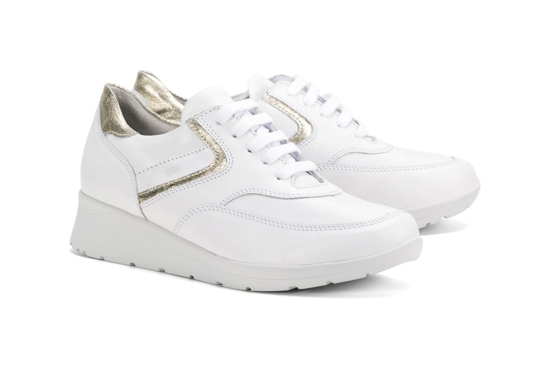c2a7f61fb0 G&T Alina - Fehér - Arany nappa – G&T cipő
