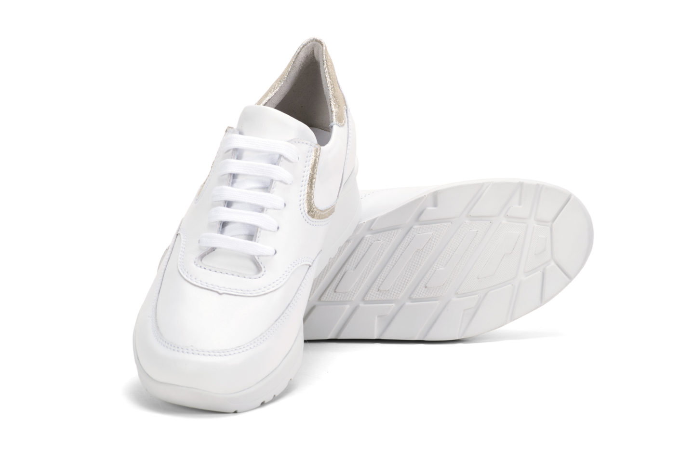 G T Alina - Fehér - Arany nappa – G T cipő 1eaefa9337