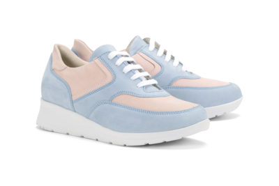 G&T Alina - Púder- Égszínkék női cipő