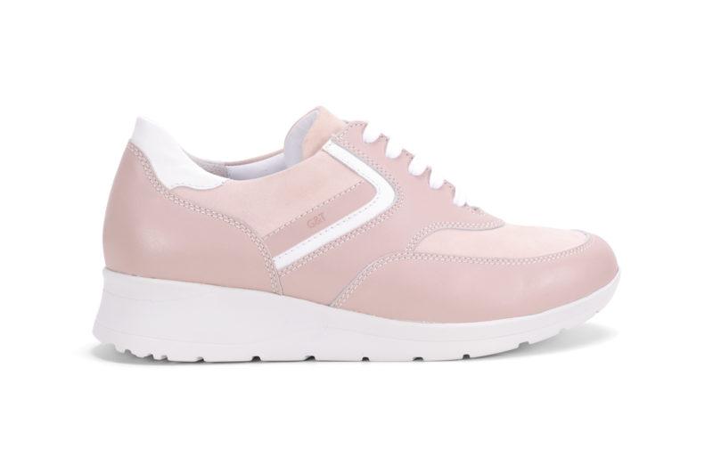 G&T Púder Duó nubuk női cipő