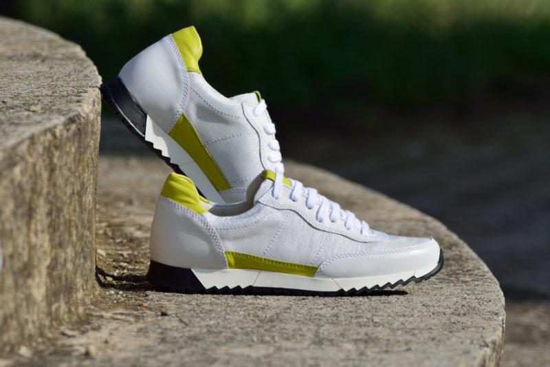 G&T Aktív Platina - Neon női sportcipő