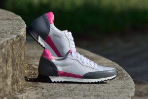 G&T Aktív Platina- Szürke - Pink 2. női sportcipő