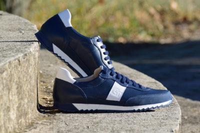 G&T Aktív Óceán - Fehér nappa bőr sportcipő
