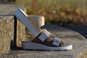 G&T Bianka Bronz női papucs