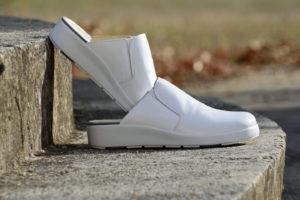 G&T Komfort - Fehér klumpa papucs