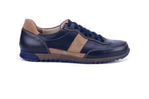 G&T Aktív Óceán - Latte bőr sportcipő