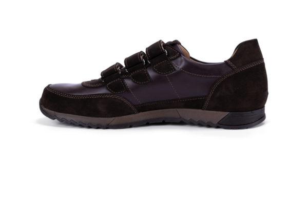 G&T Aktív-T Kakaó Duó tépőzáras bőr sportcipő