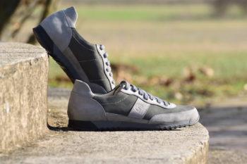 G&T Aktív Hamu - Gránit nubuk bőr sportcipő
