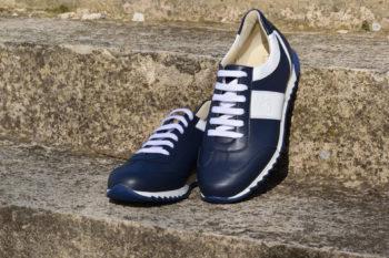 G&T PRO-19 Óceán - Fehér bőr sportcipő