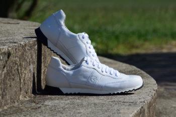 G&T Aktív Full White bőr sportcipő
