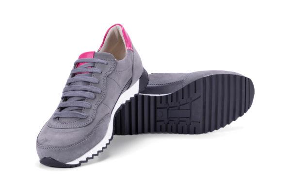 G&T Aktív Hamu - Pink női bőr sportcipő