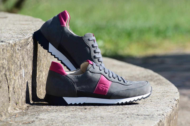 be363463fb G&T Aktív Hamu - Pink bőr sportcipő