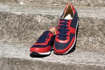 G&T Aktív Óceán Textil - Piros sportcipő