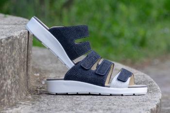 G&T Diána Óceán - Fehér Mozaik női komfort papucs