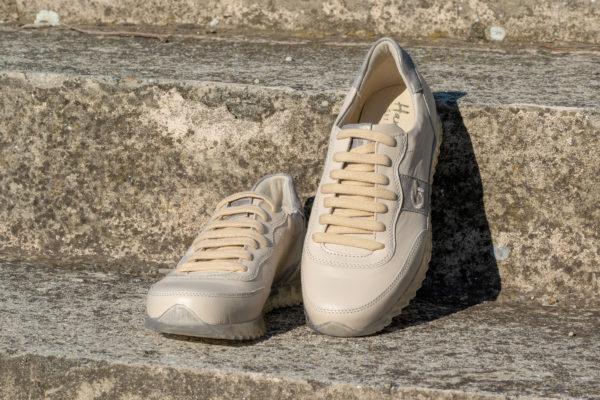 G&T Aktív Latte Macchiato - Taupe női bőr sportcipő