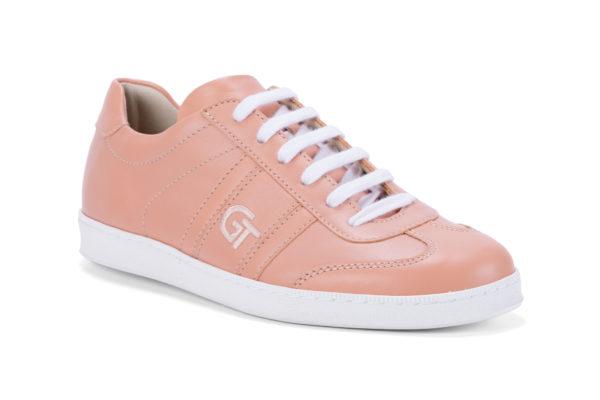 G&T Klasszikus Rozé női bőr sportcipő