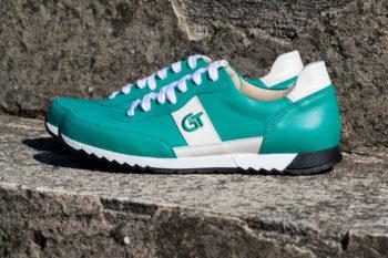 G&T Aktív Aloe - Fehér bőr sportcipő