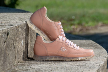G&T Aktív Rozé női bőr sportcipő