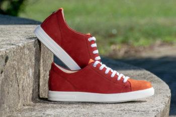 G&T Trend Meggy - Tégla bőr sneaker
