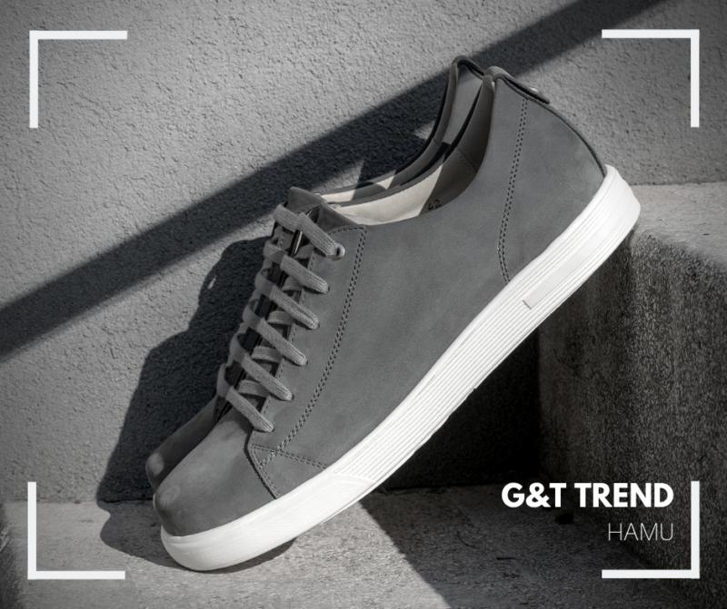 G&T Trend Hamu bőr sportcipő