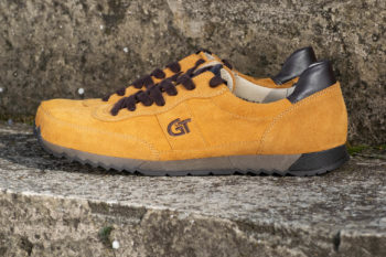 G&T Aktív Mustár - Sziena bőr sportcipő