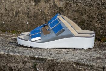 G&T Bianka Platina - Kobaltkék kényelmi papucs